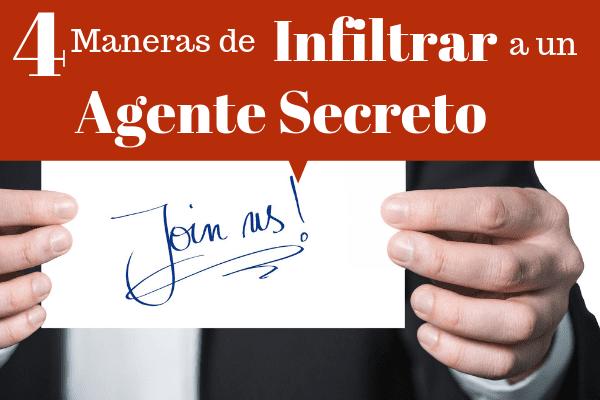 Infiltrar agente secreto